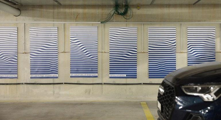 Wärme aus Parkgarage heizt Gebäude
