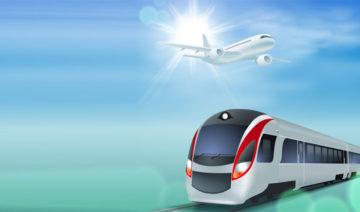 Depositphotos.com | vadimrysev | Flugzeug Zug