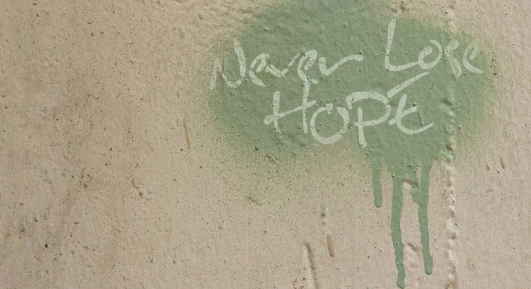 Hoffnungszeichen für eine bessere Zukunft