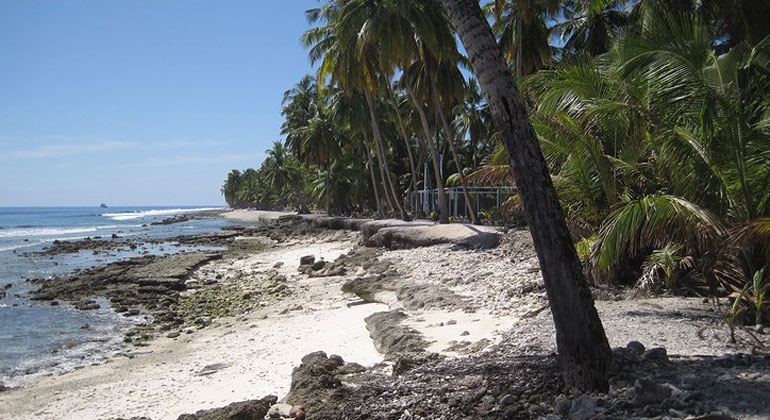 Küstenerosion auf den Malediven