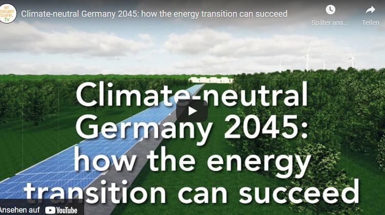 erneuerbaret v | Climate-neutral Germany 2045
