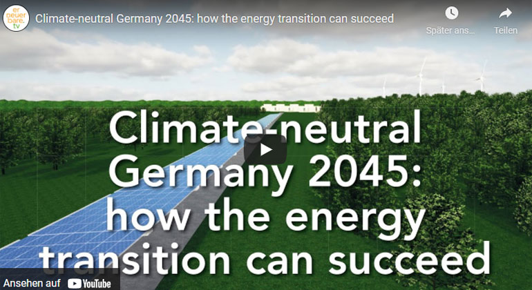 Climate-neutral Germany 2045: how the energy transition can succeed